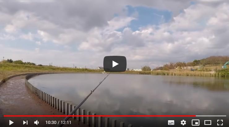 バスの釣れる野池特定動画切り抜き