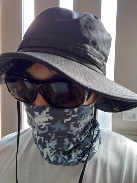 顔周りの日焼け対策