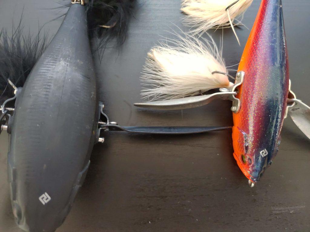 ダッジとデカダッジの羽のサイズ比較
